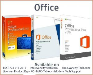 "We Service All Computer Problems! Microsoft / Windows 10 recovery data photo / video / inatall antivirus usb drive boot-MS OFFICE PRO 2019 / 365 / MS Project / Visio Let Us Take Care Your Computer Needs, So You Can Take Care Your Business. Backup image File , macOS Microsoft Office 365 - 2016/2019 Home Business 5 Devices Windows Mac INSTANT DELIVERY 5TB Cloud $45 2019 Windows PC Desktop Onsite , Drivers Recovery/Restore/Repair/Install For Win XP/Vista/7/8/10 These versions, with all published updates, are available: - 10. 4.11 ""Tiger"" - 10. 5. 8 ""Leopard"" - 10. 6. 8 ""Snow Leopard"" - 10. 7. 5 ""Lion"" - 10. 8. 5 ""Mountain Lion"" - 10. 9. 5 ""Mavericks"" - 10.10.5 ""Yosemite"" - 10.11.6 ""El Capitan"" - 10.12.6 ""Sierra"" - 10.13.6 ""High Sierra"" - 10.14.3 ""Mojave"" - some earlier versions are also available (system 6 etc.) This service is available for most Apple computers with Intel or PowerPC processors: - Mac Pro - Mac Mini - MacBook - MacBook Pro - MacBook Air - iMac - iMac Pro - PowerMac - PowerBook - iBook - etc. I can install older operating systems on some vintage Apple models with Motorola processors. Does your Apple computer display a flashing question mark? This process will fix it! This can be done while you wait. It can take 30 to 60 minutes, depending on the speed of your computer. Prices start at $45. If you are interested, please include your local phone number in your inquiry. I can not do texts. Inquiries that do not include the writer's local phone number, will only receive a polite request for their number. Thanks. Adobe Premiere Pro CS6 installation on macbook and laptop $45 no month to month fee. 3D Software for Apple Macbook Maya , 3dMax , After Effect , more we can install by ssd drive fast even i9 coffee Microsoft Windows 10 Pro Professional 32/ 64bit Genuine License Key Product Code It can be delivery by email or remote accecc or you can meet me cambie broadway and bring your laptop . We can build any app for your business very cheap IOS or Andiod - - - > Shop.Vancity-Tech.com -------------->....T...E....X...T.....7...7....8.....9.......l............8....2.....8....l....5.... 10 am - 11 pm everdays - Mac OS X Installation and Recovery . MacBook , MacBook Pro , MacBook Air , iMac , We install all Software for Apple Mac or PC or CNC machine 2D and 3D animation videos that will help you to achieve your business goals ++Virus/malware removal, ++ Upgrade from XP to 7, 8.1 Pro, ++Fix overheat-shut itself down problem, ++ Can't boot, stall, slow problem, ++ Windows log on and BIOS password recovery, ++ Re-install Windows 7, 8.1, ++Dual Boot Windows 7 / 8.1 Pro on Mac OS X Keywords: app design, application design, apple application design, android application design, ios, android, objective c, swift, java, apple app design, android app design, apps, html5, affordable app design, graphic design, iphone, ipad, traffic, web design development, custom business web design, premium custom web design, professional marketing, branding, logo design, website & graphic design, reliable, honest, easy and quick, startup, php, html, css, jquery, programmer, web programmer, web development services, web design solution, website solution, front page, splash page, web design package, responsive design, front end developer, back end developer, frontend, backend, database, coding, experienced custom web designer, mobile website, branding, logo Keywords: PC repair, Cannot Boot, Hard disk Recovery, computer repair, laptop repairs, laptop services, network repairs, PC repair, data recovery, fix blue screen of death, Installation/Setup Software, Computer Upgrades, spyware removal, Boot Camp, OS X, Operating system re-installations or upgrades. We can do your SEO to your business be found on Google and keyword meta tag . We can create E-commerce website for you Shopping card by wordpress woo commerce . very Affordable . https://vancity-tech.com/ ... ANY KIND TEXT ME AT If you agree please Call/Text Me - ┆7┆7┆8┆9┆1┆8┆2┆8┆1┆five.++++++++++++++++++++ Quickbooks Accouting Software for Mac only $80 Invoice and Budget Manufacturing- Specific Inventory Microsoft Office 365 / 2019 Personal 5 PC Mac Tablet Mobile 5 Devices Latest MS OFFICE +1TB CLOUD $45 only ALL ITEMS WILL COME WITH TEXT AND OR VIDEO INSTALL INSTRUCTIONS PAYMENT METHODS -CASH IN PERSON We install all software on you computer even no dvd drive required by USB SDD fast installation ...even macbook air /// 5 ITEMS FOR $100 (SELECT ITEMS) MAC SOFTWARE Repair fix recovery startups disk windows 10 pro and just stick boot from flash drive réinstalla or recovery save your laptop or wipe it off hard drive $65 usb drive i programm it so you can boot uefi or legacy mode ""SERVICE is what I sell, PEACE of mind is what you buy."" For any computer imac mac pro any certified laptop hp dell XP's. Toshiba Samsung smart tv kodi watch free pyramid movies on your mac, All graphic design and video editing software for Mac or windows Upgrade All Mac Software Adobe lightroom 4 and 5 I wont answer email Only call through your cell phone that if I miss it that I can get back to you Software for lightroom light mechanical engineering electric electrical guitar and renovation home bedroom roofing system house building floor plan business card and coffee whole food , i9 9900k z370 z390 motherboard custom build vegan organic coffee PC doctor , hotel investment , realtor license , rental , hockey and game and tshirt shoes designs softwares star war and king pc dvd and usb drive boot for macos and Windows 10 pro and more restaurant menu adobe Illustrator on your mac be editable and read cad and pdf and jpeg and mp4 @nd go pro hero camera If you agree please Call/Text Me - ┆7┆7┆8┆9┆1┆8┆2┆8┆1┆five.++++++++++++++++++++ Mac and PC. I HAVE MANY UNLISTED SOFTWARE AS WELL. . .. CONTACT ME I JUST MIGHT HAVE IT AVAILABLE We build for you any APP IOS and Android , We build Online Store Payment by Visa , Mastercard , Unlimited product . WordPress Website custom We do SEO and Social Media Marketing We do install Best Software on your computer to do own marketing , any small business . We Install Server , Home Server , Office Server PROFESSIONAL IT SOLUTIONS & COMPUTER SERVICES. • Managed IT Services for business • Unlimited IT Remote Support for businesses with the low monthly fees. • Computer Repair & Services • Install & Setup Security Cameras Systems for homes and businesses • IT Services & Solutions and Consultant • Apple/PC - Computer & Laptop Repair and Service • Hardware Upgrades/Configuration • IT Management (Maintenance & Monitor) • Setup Wire/Wireless Networking\ • IN-HOUSE • ONSITE • REMOTELY • SUPPORT Small business software business plan Microsoft project and Visio presentations flow chart purchase project manager Norton Windows server datacenter sp1 Window 10 pro usb boot If you agree please Call/Text Me - 7 7 8 - 9 1 8- 2 8 1 5 . I9 I7 We use most advance tools in the Data Recovery Business. Most advance Software to recover your Data. We can recover more data as we have the right tools, software and we are fully trained.We do Data Recovery for Hard Drive , Raid ,Flash Memory, CD,DVD, Cellphones any type of media Starting Data Recovery Services and Computer Repair for home and Business in BC Graphic card nvidia Cloud amazon Icloud locked recovery Data recovery google drive one drive Website seo Ato, iMovie, iDVD, iWeb, Pages, Keynote, Numbers , iLife. , iWork 09 - Final Cut Pro 10 X , Motion 5 , Compressor 4 AutoCAD 2018 for apple mac SolidWorks 2026 premium Tax turbo QuickBooks accounting for apple mac Small business software business plan Microsoft project and Visio presentations flow chart purchase project manager Norton Windows server datacenter sp1 Window 10 pro usb boot If you agree please Call/Text Me - ┆7┆7┆8┆9┆1┆8┆2┆8┆1┆five.++++++++++++++++++++ Mac and PC. Mac and PC. • D3D / Creative people need software • Apple Mac Video Editing Software 4K 5k For High End video editing • Apple Mac OS X Reset admin user password without loosing any files , • 3D Rendering software WILL Setup on your computer • Skechup pro / Lumion 8 pro / Revit Autodesk / Autocad 2018 pro floor plan /3d house draw render • Apple MacBook WebSite Builder / Copy content / Total Solution • New hosting for your Website plus free domain plus one free business email plus free SSL Package • Managed IT Services for business Mac Data Recovery Guru is a data recovery application, for macOS. It was designed to recover deleted files from hard disk drives, USB flash drives and optical • Unlimited IT Remote Support for businesses with the low monthly fees. • Computer Repair & Services • Install & Setup Security Cameras Systems for homes and businesses Design Website / cheap host / Copy Website Builder • IT Services & Solutions and Consultant • Apple/PC - Computer & Laptop Repair and Service • Hardware Upgrades/Configuration • IT Management (Maintenance & Monitor) • Setup Wire/Wireless Networking • Cabling & Wiring for Residents/businesses • Install & Setup Microsoft Server/Exchange Server • Install & Setup Microsoft Application (Office365/Suite) • Install and Support Virtualization (VMware/Hyper-V) • Data Backup/Recovery and Restore • Virus/Spam Removal and Protection • IN-HOUSE • ONSITE • REMOTELY • SUPPORT Please contact us with your IT/Computer Services & Solutions need! Microsoft Office 2016 Mac Word Excel outlook Powerpoint $45 Only installation bring your macbook Microsoft Office 2016 Word excel publisher outlook access $65 It can be delivery digital or onsite Windows XP / 7/ 8 / 8.1 / 10 Restore Repair Recovery . Keep old Data and Install new Windows fresh . Apple Mac Station Yaletown , Cambie broadway , marpole , richmond , downtown , Burnaby, Coq , northshore,west vancouver IT Solution / compute problem solving . Data Recovery imac , lenova , hp dell Transfer & Recovery software for creative and tshirt design and cabinet kichten photograph real estate and interior designer and architecture and mechanical and electrical engineering amd I can meet you quicker and help you by your apple mac pc laptop any brand computer . I can fux recovery restore data reset factory and software geek tech IT support from email to printer wifi network for apple imac take image and backup hard drive tutor computer problem solving ? Mac os installation and downgrade upgrade update windows 10 to windows 7 and windows xp and microsoft office 2007 I can teach how to use kodi xbmc watch tv shows and free movies only $54 time machine and get backup file image excel word document pdf cad files....I won't answer emails home business commercial Microsoft office 2016 mac certified laptop fix tutor lesson virus removal clean up computer ios iPhone ipad and call mr through your personal tablet netbook organic search seo social media manager for doctor. Hair salon beauty organic dry food tea coffee exoport import car dealer part boat buy and sale amazon server hosting web host all tech support geek nerd genius bar cell phone that I can call you back thank you for your understanding. ........Avoid taking appointment in apple store and it takes long time plus you pay tax extra im freelancer local work by cash old fashion guy tech savvy ""SERVICE is what I sell, PEACE of mind is what you buy."" For any computer imac mac pro any certified laptop hp dell XP's. Toshiba Samsung smart tv kodi watch free pyramid movies on your mac, graphic design and video editing software for Mac or windows Upgrade All Mac Software Adobe lightroom 4 and 5 Adobe master collection CS5 Adobe Master Collection CS6 Adobe Photoshop CS6 Adobe Illustrator CS6 Adobe InDesign CS6 Adobe Acrobat X Pro ADDITIONAL COMPONENTS Adobe Bridge CS6 Adobe Device Central CS6 - iPhoto, iMovie, iDVD, iWeb, Pages, Keynote, Numbers , iLife. , iWork 09 - Final Cut Pro 10 X , Motion 5 , Compressor 4 I wont answer email Only call through your cell phone that if I miss it that I can get back to you AutoCAD 2018 for apple mac SolidWorks 2016 premium QuickBooks accounting for apple mac Small business software business plan Microsoft project and Visio presentations flow chart purchase project manager Nortonssional editing logo design menu tattoo restaurant golf beer hair product floor plan , more more business ..we helped. Prelude Photoshop CS6 Extended (No Month to month ) one time activation and installation . Hi . i have a windows 10 professional pro edition Draw and Design own Floor plan DWG file Home builder on your macbook $60 Only - $100 Max AutoCAD 2018 Pro for Mac / PC icloud removal password cloud server removal Visual Art Studio 3D Rendering Effect for 3D Object , animation All types of software, adobe, photoshop, dreamweaver, illustrator, microsoft, antivirus, final cut pro, autodesk, autocad, revit, mac os and windows os. 🔥Get anything you need installed on your Mac or PC🔥 🔥MS Office 2019🔥 🔥Adobe Suites and Single Applications🔥 🔥Audio Programs🔥 🔥Video Programs🔥 🔥Photoshop Plugins🔥 🔥Final Cut Plugins🔥 Vancouver computer & tech repairs and support. Computer problem solving IT tech support onsite / remote /Call Us for a Free Quote! Fast response. High quality help IT service Onsite TECH Services: Computer & Laptop Repairs, Data Recovery, Software Installation, Virus Removal PROFESSIONAL IT TECH SOLUTIONS & COMPUTER SERVICES. Popup and Virus Removal we install any software you needed for job resume or architect and interior designer and mechanical engineer and visitor and travel agency and hotels and restaurant and creative digital art studio , drafting software , 3D printer software Installation Adobe PhotoShop , ILLUSTRATOR , LIGHTROOM , PRIMMER PRO CC 2018 New version No month fee one time activation Its best for imac , macbook pro , mac air , Laptop acer hp dell toshiba sony Installation Microsoft Office for Mac and Autocad for mac $200 package include PDF writer and keywords: dell, HP, acer, apple, asus, samsung, compaq, emachines, sony, alienware, hewlett packard, ibm, lenovo, intel, toshiba, Macintosh, virus, anti, antivirus, clean, service, laptop, desktop, tablet, phone, iphone, windows 10, 8, 8.1, 7, vista, xp, win, network, power, system, fix, dvd, burner, blu ray, bluray, business, home, torrance, broken, remote, team viewer, hard drive, microsoft, tech, technician, itunes, lost, files, scanner, tutor, training, install, installation, office, word, excel, support, help, documents, power, supply, villa tower high rise , , , downtown, vernon, memory, vancouver downtown, Nvidia, amd, geforce, radeon, home, business, biz, IT, fast, economical, certified, affordable, configuration, technical support, tech, assistance, services, service and repair, yelp, computer, personal, home, business, desktop, laptop, galaxy, mac, trojan, malware, pop-up, spyware, removal AutoCAD 2018 / installation power Revit 2018 Drafting (Construction Documents) Desktop, laptop,notebook and netbook repairs. Upgrade your old Personal or business Computer. Preventive Maintenance for your your computer. Onsite computer repair service. Home and Office networking. Wireless networking at home or office Home and Business Networking Printing and Print Server Internet safety and security including virus and spyware removal Data backup solutions Online & remote repair services Data Recovery on hard disk and flash drives Data Recovery from mobile devices Mobile Devices reapir Home or Business Security systems Enterprise business setup on window or Linux server Window server setup Web server and Enterprise Email Server setup Point of sale or custom software solution Complete Antivirus and Anti Spyware solutions Website Design Search engine Optimization Domain Name Registrations and Website Hosting Personal and Business Training Solutions Services for Small Businesses Own APP , WordPress online Store , SEO RANK + Emergency on site and remote support services Small Business IT Modernization Computer Tuneup, Upgrades and Repairs Network design and implementation Microsoft Office 365 Cloud Virtualization with VMware vSphere and Hyper-V Server upgrades, migration and monitoring Backup, Storage & Recovery Apple Mac OS X Testing and Security Data Migration and Recovery Database Administration Network Management QuickBooks single/multi-user Computer support & maintenance< email server setup Web Server Setup Email server administration & support (MS Exchange, Google Apps) Mail server Security & virus removal Security audit & configuration Planning a move or new network installation Monthly Consulting agreements Router, Firewall configuratiata transfer Data Recovery, Backup and Restoration Recovery of lost or forgotten passwords -Site Surveys -Create: Site Plans, Floor Plans, Elevations, Sections, Details -Major Renovation Residential Documentation -Plan Check Comments/Revisions -3D BIM Models (Revit) -Design Expertise Architects provides planning and architectural services to educational, healthcare, performing arts, and municipal clients - Permit Set for Building Department license n Store, Mobile, and Remote Computer Repair Service in Richmond, Downtown Vancouver, Burnaby, Surrey, New ... Richmond, Vancouver, Granville Street - xpert Apple Repair for hardware or software - Network troubleshooting ==================== Call : Granville_Street Upgrade & Recovery windows MAC OS X / Photoshop / Adobe CS6 / Final Cut Pro / fx factory / avid media tools / Nik software / topaz bundle photoshop plug ins / allien skins / psd template Granville Street is a major street in Vancouver, British Columbia, Canada, and part of Highway ... have all closed for good.. of Vancouver Archives Granville Desktop. Vancouver Computer Tech Support . iRepair . Repair . Data Recovery . MAC & PC Installation & Recovery & Upgrade Windows 8 . Windows 7 Home - Ultimate - Professional Computer Tech Support . Best Services and Computer Support ! Best Price ! Vancouver , New westminster , North Van , West Vancouver , Burnaby , Surrey BC Did you buy new macbook or laptop ??? Do you need software for video editing , photo editing ?? Are you a wedding photographer ,.. Topaz bundle photoshop , photoshop cs6 extended , lightroom 5etworking , Wifi , Security Reset Password . - MAC OS X Recovery . - Computer Software Software for small business . (Word , Excel , Access , PowerPoint , Contact Manager , Ms Project , Ms Visio , PhotoShop , After Effect , In Design , Illustrator , Autocad and more .. ) - Internet Marketing , Web Design , Selling Product online ,Store Online , FaceBook Marketing , .. - App iTunes Transfer Photos iphone max case For Ipad , Iphone . . - Mac OS X Installation and Recovery . MacBook , MacBook Pro , MacBook Air , iMac , - PC , Laptop, Mac Parallel Desktop . BootCamp .Run Windows Application on Mac.Microsoft Office for Mac. - Data Recovery - Hard Drive Recovery - Setup Wifi Wireless Internet Security Password . - Installation & Recovery Clean Fresh Mac OS Tiger , Leopard , Snow Leopard , Lion .Reset Password Admin . - Window7 Ultimate 64 and 32 . - Microsoft Office 2003 - 2007- 2010-2011-2013-2016-2018 Mac & Windows . - Adobe PhotoShop CS5 - Adobe Creative Suite Easy to drop off/pick up / Onsite / Remote house home small business Keywords: PC repair, Cannot Boot, Hard disk Recovery, computer repair, laptop repairs, laptop services, network repairs, PC repair, data recovery, ++Virus/malware removal, ++Configure VPN, ++ Can't boot, stall, slow problem, ++ Windows log on and BIOS password clear, ++ Re-install Windows 7, 8.1, 10 Pro, MS Office ++Install Mac OS Xfix blue screen of death, Installation/Setup Software, Computer Upgrades, spyware removal, OS X, Operating system re-installations or ca Logo Design & Branding Website Design Print Design Video Production Search Engine Optimization Pay-Per-Click Marketing Email Marketing Social Media Marketing (Facebook, Instagram, Pinterest & Twitter) Website Services Include: i9 coffee keywords: dell, HP, acer, apple, asus, samsung, compaq, emachines, sony, alienware, hewlett packard, ibm, lenovo, intel, toshiba, Macintosh, virus, anti, antivirus, clean, service, laptop, desktop, tablet, phone, iphone, windows 10, 8, 8.1, 7, vista, xp, win, network, power, system, fix, dvd, burner, blu ray, bluray, business, home, torrance, broken, remote, team viewer, hard drive, microsoft, tech, technician, itunes, lost, files, scanner, tutor, training, install, installation, office, word, excel, support, help, documents, power, supply, los angeles, la, , downtown, vernon, memory, pasadena, Nvidia, amd, geforce, radeon, home, business, biz, IT, fast, economical, certified, affordable, configuration, technical support, tech, assistance, services, service and repair, yelp, computer, personal, home, business, desktop, laptop, galaxy, mac, trojan, malware, pop-up, spyware, removal keywords: dell, HP, acer, apple, asus, samsung, compaq, emachines, sony, alienware, hewlett packard, ibm, lenovo, intel, toshiba, Macintosh, virus, anti, antivirus, clean, service, laptop, desktop, tablet, phone, iphone, windows 10, 8, 8.1, 7, vista, xp, win, network, power, system, fix, dvd, burner, blu ray, bluray, business, home, torrance, broken, remote, team viewer, hard drive, microsoft, tech, technician, itunes, lost, files, scanner, tutor, training, install, installation, office, word, excel, support, help, documents, power, supply, los angeles, la, , downtown, vernon, memory, pasadena, Nvidia, amd, geforce, radeon, home, business, biz, IT, fast, economical, certified, affordable, configuration, technical support, tech, assistance, services, service and repair, yelp, computer, personal, home, business, desktop, laptop, galaxy, mac, trojan, malware, pop-up, spyware, removaltraining video 100 hours for autocad 2019 plus , i can install software too LT / Professional plus floor plan templates drafting kitchen designer WE CAN INSTALL any SOFTWARE PLUS TRAINING VIDEO FOR IT *It may fit other devices as well just send me the model # and I'll check compatibility. Toshiba HP COMPAQ ASUS DELL ACER LENOVO Apple iMac Surface pro Total Tech Solution for Graphic Designer , Animation Website Coder , 3D Art digital and Studio Art , Logo design Only $80 - $120 Max Adobe Device Central CS6 - iPhoto, iMovie, iDVD, iWeb, Pages, Keynote, Numbers , iLife. , iWork 09 - Final Cut Pro 10 X , Motion 5 , Compressor 4 I wont answer email Only call through your cell phone that if I miss it that I can get back to you If you agree please Call/Text Me - ┆7┆7┆8┆9┆1┆8┆2┆8┆1┆five.++++++++++++++++++++ Microsoft Windows 10, Microsoft Windows 7, Microsoft Windows 8, Microsoft Windows 10 64-bit, Microsoft Windows 8.1, Microsoft Windows 7 64-bit, Microsoft Windows 8.1 64-bit, Microsoft Windows 8 64-bit, Microsoft Windows Vista, Microsoft Windows Server 2012, Microsoft Windows Vista 64-bit, Microsoft Windows Server 2012 R2, Microsoft Windows Server 2008, Microsoft Windows Server 2008 R2"